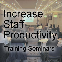 Increase Staff Productivity with Training Seminars